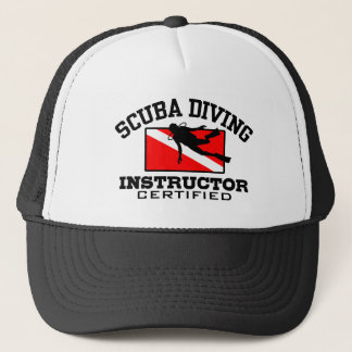 Scuba Diving Instructor Trucker Hat