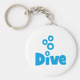 Scuba Diving Key Ring