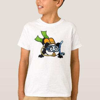Scuba Diving Panda T-Shirt