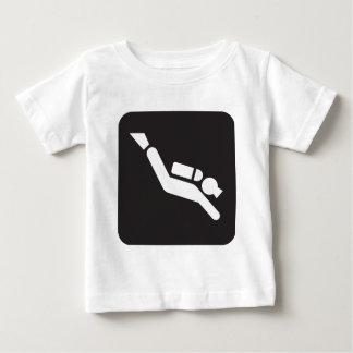 Scuba Diving Sign Baby T-Shirt