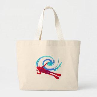 Scuba Dreams Large Tote Bag