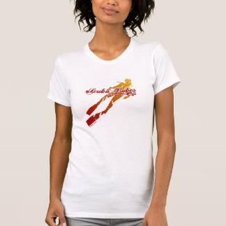 Scuba Girls T-shirts