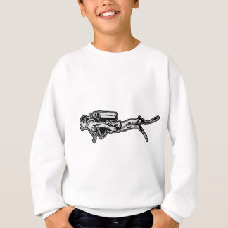 scuba more diver sweatshirt