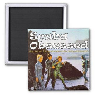 Scuba Obsessed Alternate Podcast Cover Magnet