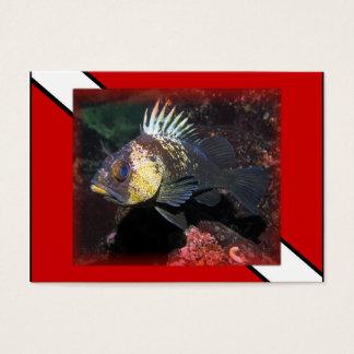 Scuba Rockfish - Business Card