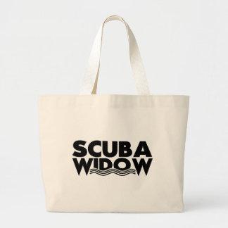 Scuba Widow Beach Bag