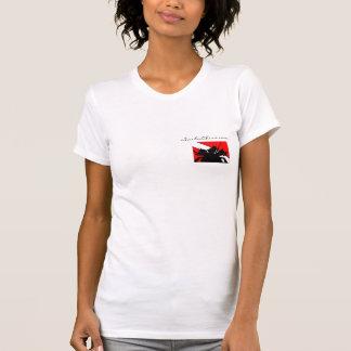 ScubaChixs Plain White T T-Shirt