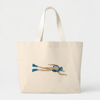 ScubaDiving052010 Large Tote Bag