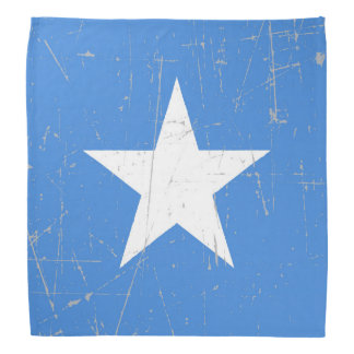 Scuffed and Scratched Somalia Flag Bandannas