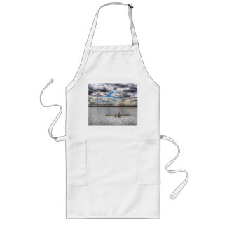 Sculling at London City Airport Aprons