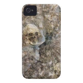 Sculls abstract iPhone 4 cover