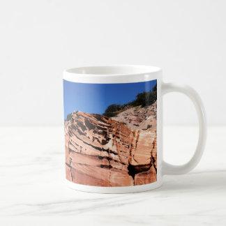Sculpted sandstone, Los Gatos anchorage Mugs