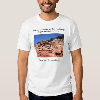 Sculpted sandstone, Los Gatos anchorage Tee Shirts