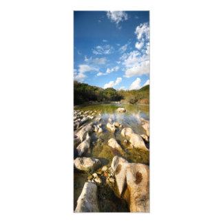 Sculpture Falls Barton Creek in Austin Texas 2 Photographic Print