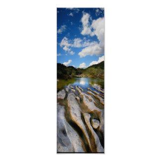 Sculpture Falls Barton Creek in Austin Texas Photo Print