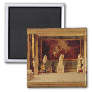 Sculpture Gallery at the Pitti Palace, Florence (o Square Magnet