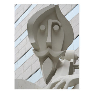 Sculpture in Houston, Texas Postcards