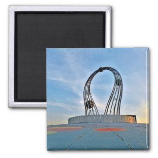 Sculpture Square Magnet