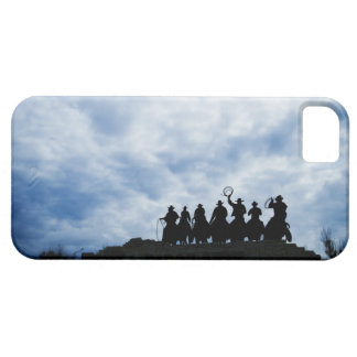 sculpture that welcomes you to Dodge City Kansas Barely There iPhone 5 Case