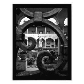 Sculpture View Photo Print