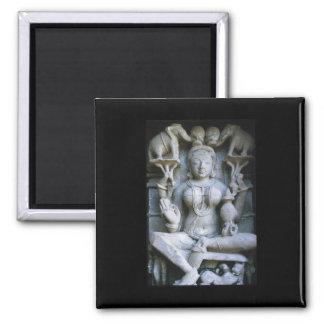 Sculptured Art India Magnet