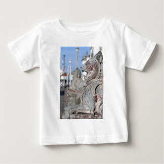 Sculptured stone lions of Leon, Nicaragua Baby T-Shirt