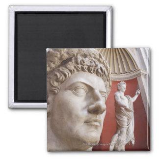 Sculptures inside Vatican Museum, Vatican City, 3 Refrigerator Magnets