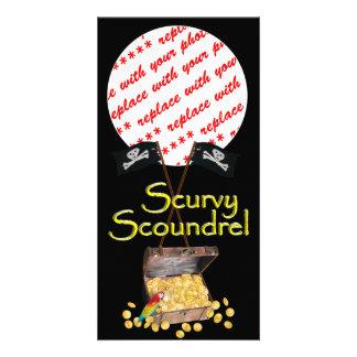 Scurvy Scoundrel Photo Card