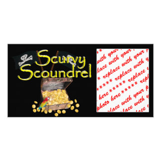 Scurvy Scoundrel Picture Card