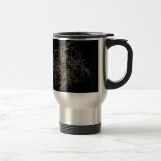 scwarzes gold travel mug