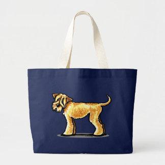 SCWT Wheaten Terrier Full Figured Jumbo Tote Bag