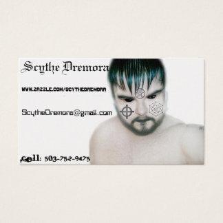 Scythe Dremora's Buisness card