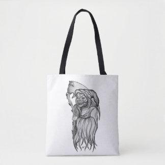 Scythe man - The Death , Grim reaper Tote Bag