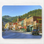 SD, Deadwood, Historic Gold Mining town Mouse Pad