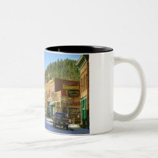SD, Deadwood, Historic Gold Mining town Two-Tone Coffee Mug