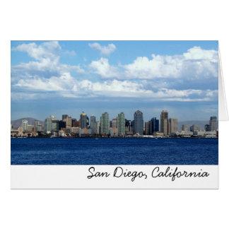 SD, San Diego, California Note Card