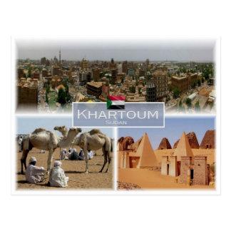SD Sudan - Khartoum - Postcard