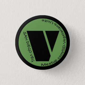 SD Vegetarians Unite! Button