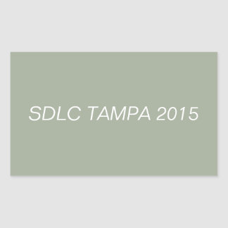 SDLC TAMPA 2015 STICKER