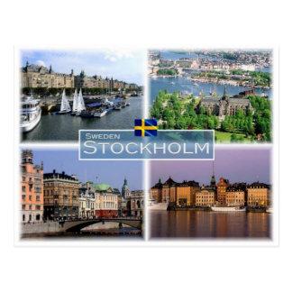 SE Sweden Stockholm - Postcard