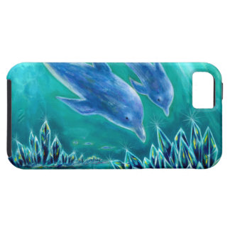 Sea 1 of crystal and dolphin iPhone 5 covers