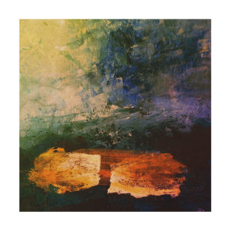 "Sea 30.5 cm x 30.5 cm (12"" x 12"") Wood Wall Art"