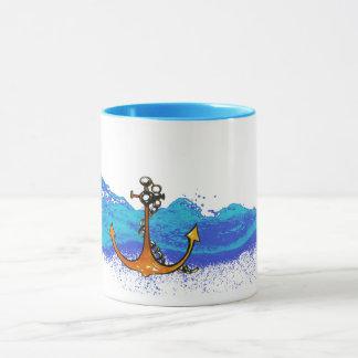 Sea anchor Combo Mug