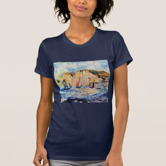 Sea And Cliffs By Pierre-Auguste Renoir T-Shirt