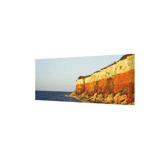 Sea and Cliff's Canvas Print