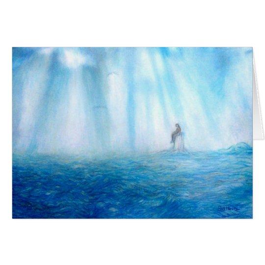 SEA AND MEDITATION CARD