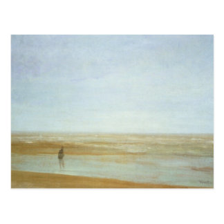 Sea and rain by James Abbott McNeill Whistler Postcard