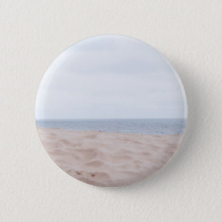 Sea and sand 6 cm round badge