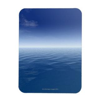 Sea and sky 3 rectangular photo magnet