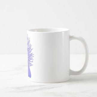 sea anemone coffee mug